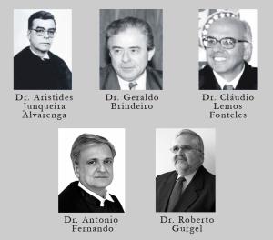 Procuradores-Gerais da República após 1988. Fotos disponíveis no sítio da PGR. Montagem: Sara Raquel de Melo